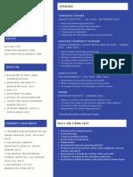 resume spring 2019