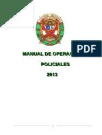 Procedimientos Operaciones Policiales Rd n 30 de 15ene2013