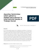 Apuntes feministas sobre género y trabajo
