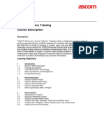 TEMS Discovery 3.0 - Training - Course Description