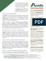 ACEDIS Formación SLU - Curso Avanzado de Microsoft Excel 2016 en Office 365