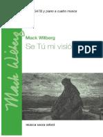 Se Tú Mi Visión - Wilberg