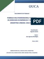 2019 Observatorio Pobreza Multidimensional Documento Trabajo