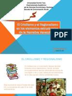 El criollismo y el Regionalismo