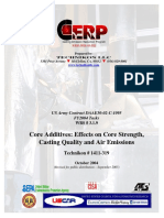 1411-319 Core Additives Effects, Strength, Quality, Emissions Public