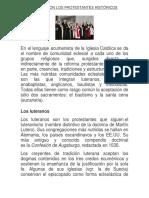 CUÁLES SON LOS PROTESTANTES HISTÓRICOS.docx