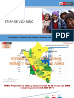 Etapa de Vida Niño 2018