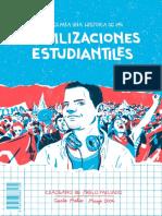 Fanzine movilizaciones estudiantiles