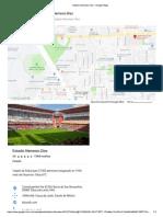 Plano de Estadio Nemesio Diez