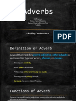 English Adverb Presentation