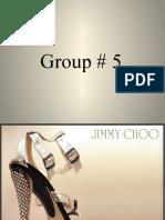 Jimmy Choo Marketing in Pakistan