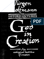 God in Creation an Ecological Doctrine of Creation