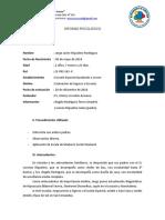 EEAC Medio Bajo VINELAND Jorge Javier Riquelme Rodríguez