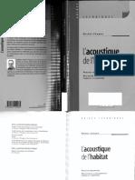 Lacoustique de lhabitat.pdf