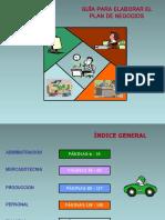 Guía Plan de Negocios