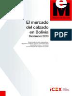Mercado Calzado Bolivia 2013 V