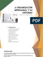 La Organización Empresarial y Su Entorno