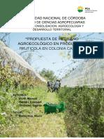 Propuesta de Rediseño Agroecológico en Producción Frutícola..