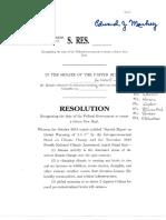 Green New Deal Resolution