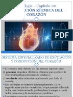 Cap. 10.  Excitación y Conducción del Corazón