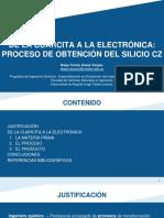 obtencion del silicio cz