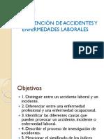 Prevención de Accidentes y Enfermedades Laborales Con Notas