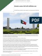 Dívida Portugla Soma Em Fevereiro