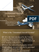 What is the Unmanned Aircraft System Final Ppt