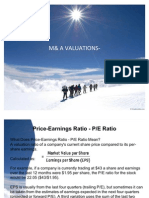 M& a Valuation