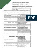 RESULTADOS FINALES - GANADORES SEGÚN ORDEN DE MÉRITO PROCESO CAS N° 001-2019-SATT