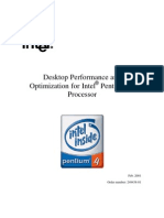 Pentium 4 Desktop Performance