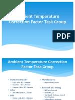 Ambient Temperature Correction Factor TG 1-16-05 2.186191639