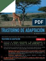 Trastorno de Adaptación - Psicopatología y Psicofarmacología Adulto