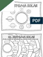 cuadernillo de sistema solar