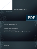 1 - Konsep Obyek Dan Class