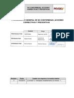 Pg Sig 010 Procedimiento Nc Ac AP