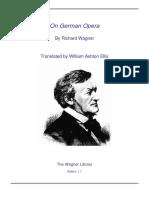 Wagner on German Opera