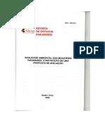 Qualidade Ambiental dos municípios Paraenses