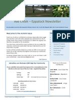 Axe Creek & Eppalock News, Issue 62