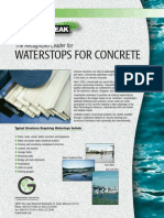 WATERSTOP FOR CONCRETE