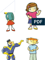 Characters of Kid's Box