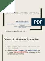 Desarrollo Humano Sostenible_Lineamientos Para La Planificacion y La Investigacion Cientifica