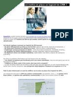 Quel logiciel de CRM choisir pour une PME