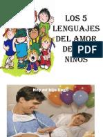 Los 5 Lenguajes de Amor