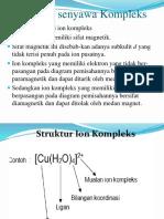 Sifat Sifat Senyawa Kompleks 1
