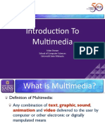 L01 - Introduction to Multimedia