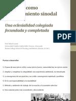 Presentación Pontificia 1 (Rafael Luciani) Medellín Sinodalidad