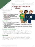 Proyecto Desconectado_ La Función Módulo