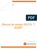 Manual de Usuario SGCOL Y SGSST
