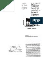 De Diego, Salomé; Sagredo, Cristina. Jugar Con Ventaja. Cap.1 y 4